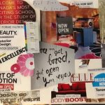 Collage related to interior design